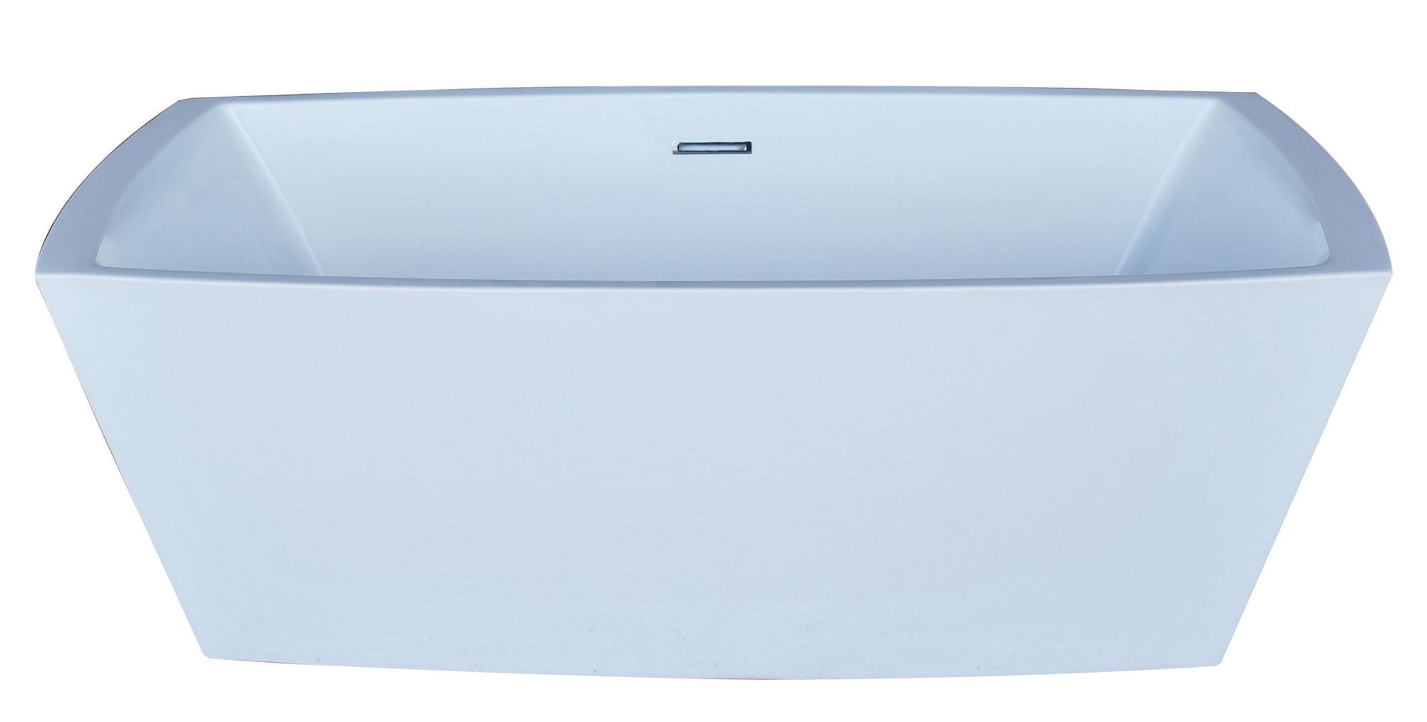 MediTub 6731ATSXCWXX Atlantis Whirlpools Antione Rectangle Acrylic Bathtub