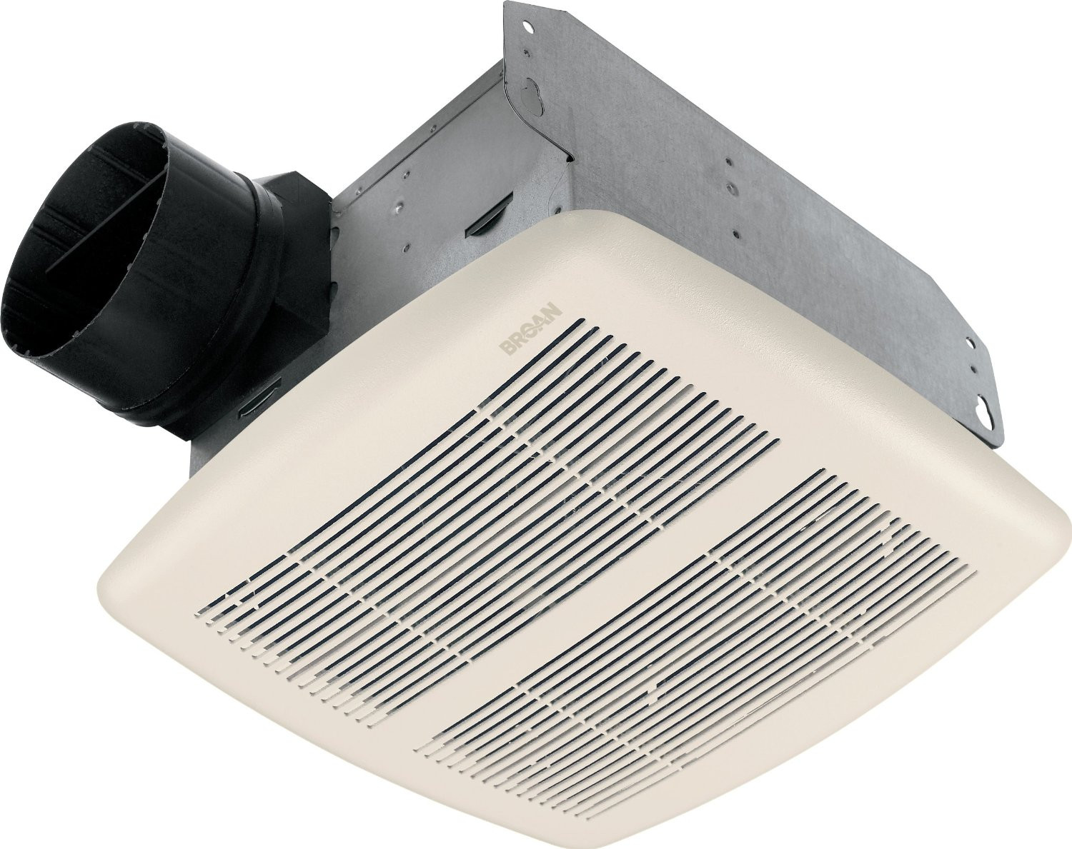 Broan 770 Quiet Bathroom Ventilation Fan for 4 Inch Ducts In White Grille