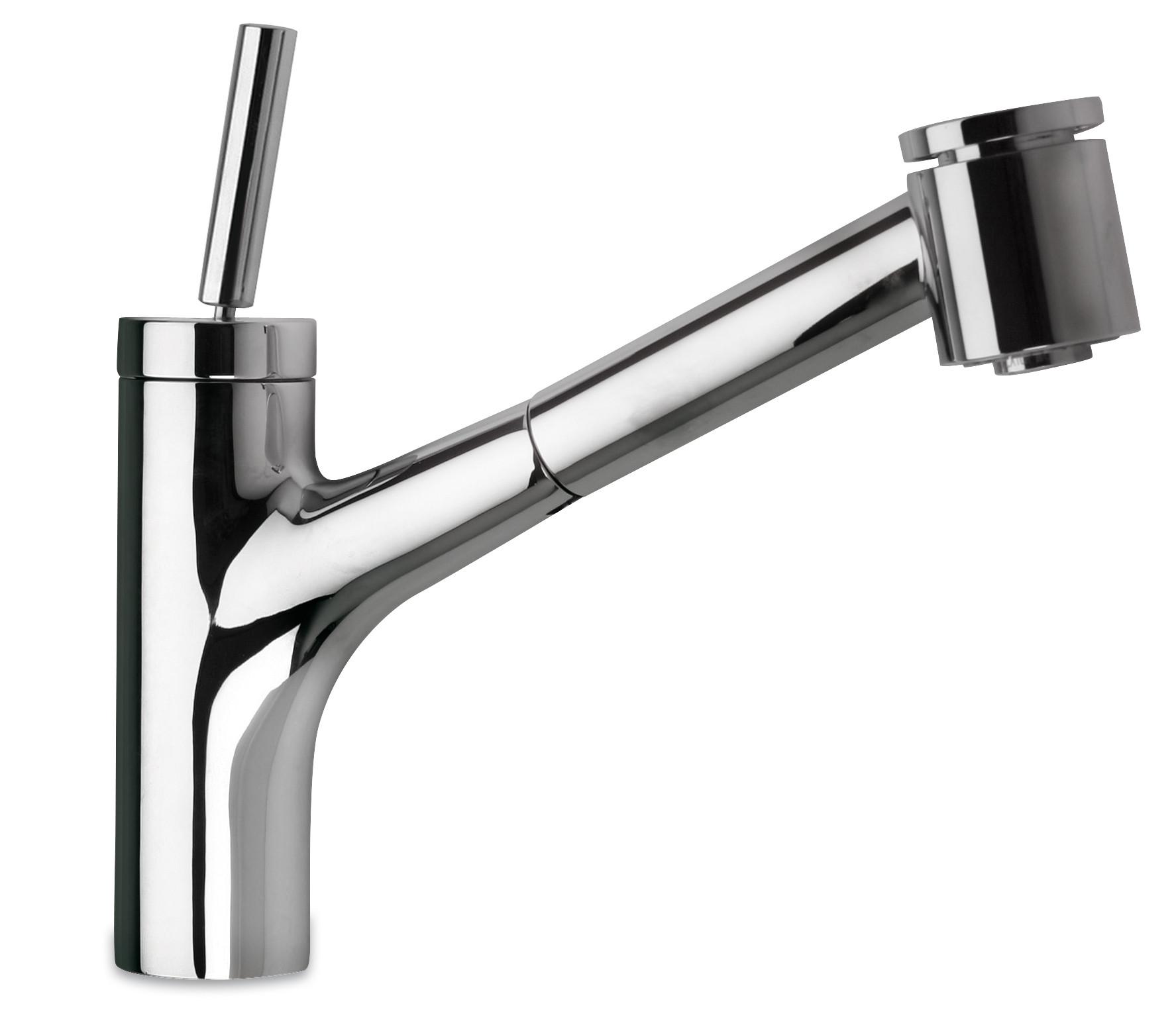 Polished Chrome LaToscana 78CR576JO  Pull Out Faucet w/ Joystic Lever