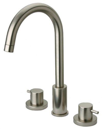 Brushed Nickel LaToscana 78PW214 in Widespread Bathroom Faucet