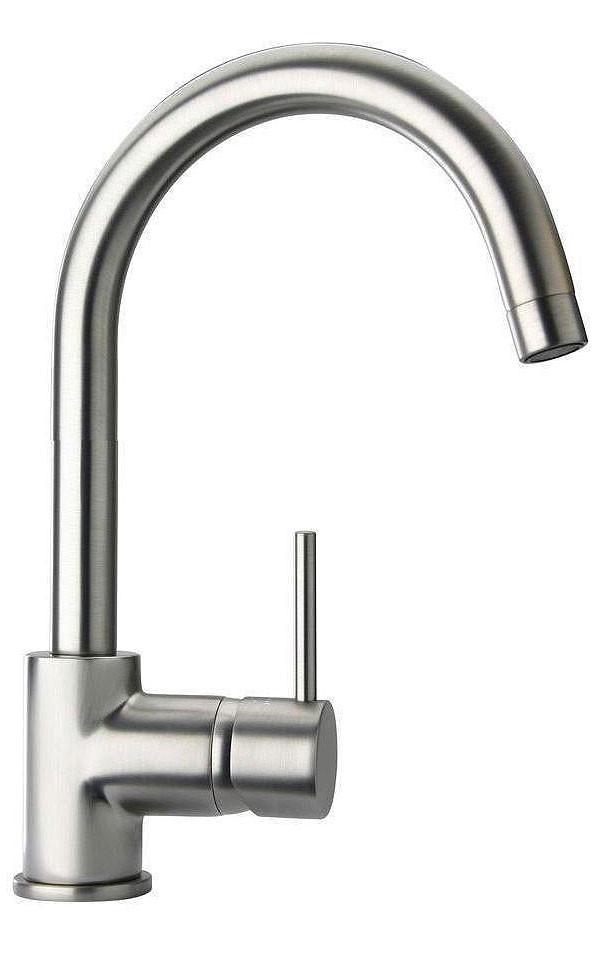 Brushed Nickel LaToscana 78PW250 Single Handle Faucet w/ Popup Drain