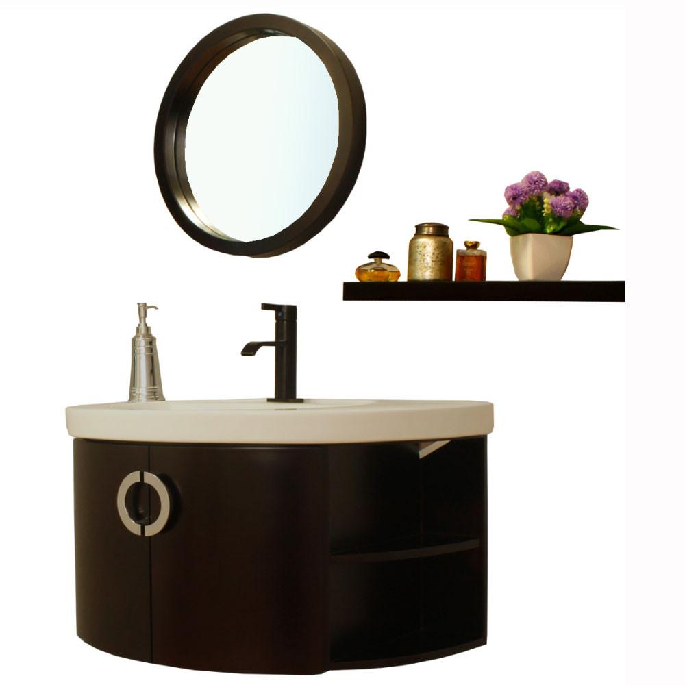 Bellaterra Home 804338 34-Inch Single Vanity Wood Espresso