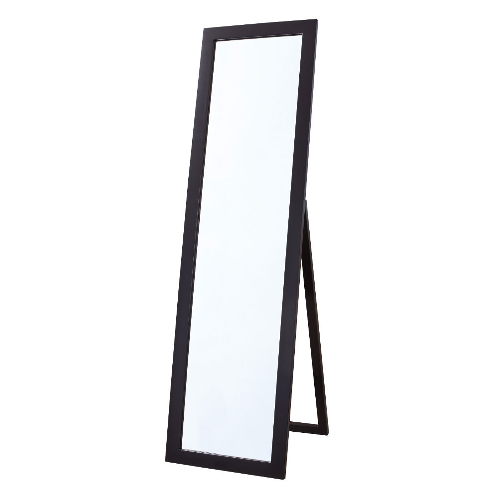 Bellaterra Home 808807 Rectangular Floor Mirror In Espresso