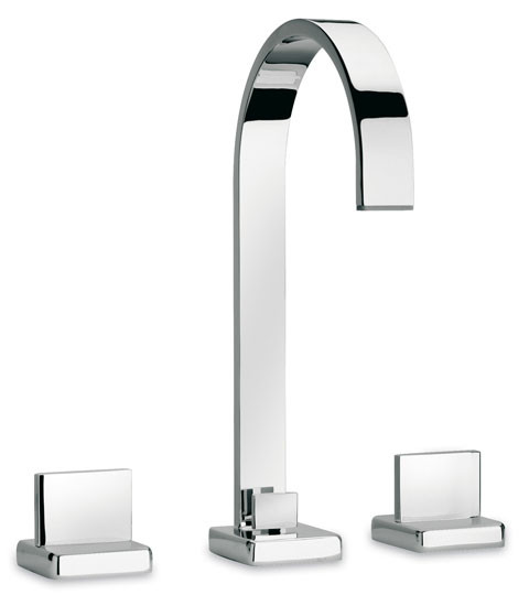 Polished Chrome LaToscana 86CR214 12 in Widespread Bathroom Faucet