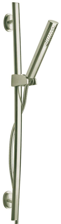 Brushed Nickel LaToscana 86PW124 Slide Bar w/ Hand Held Shower
