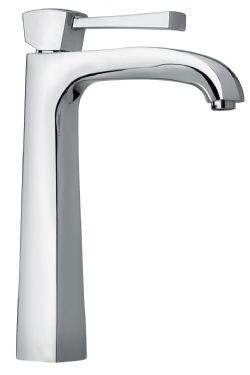 Polished Chrome LaToscana 89CR205LL 11'' Tall Single Hole / LeveFaucet