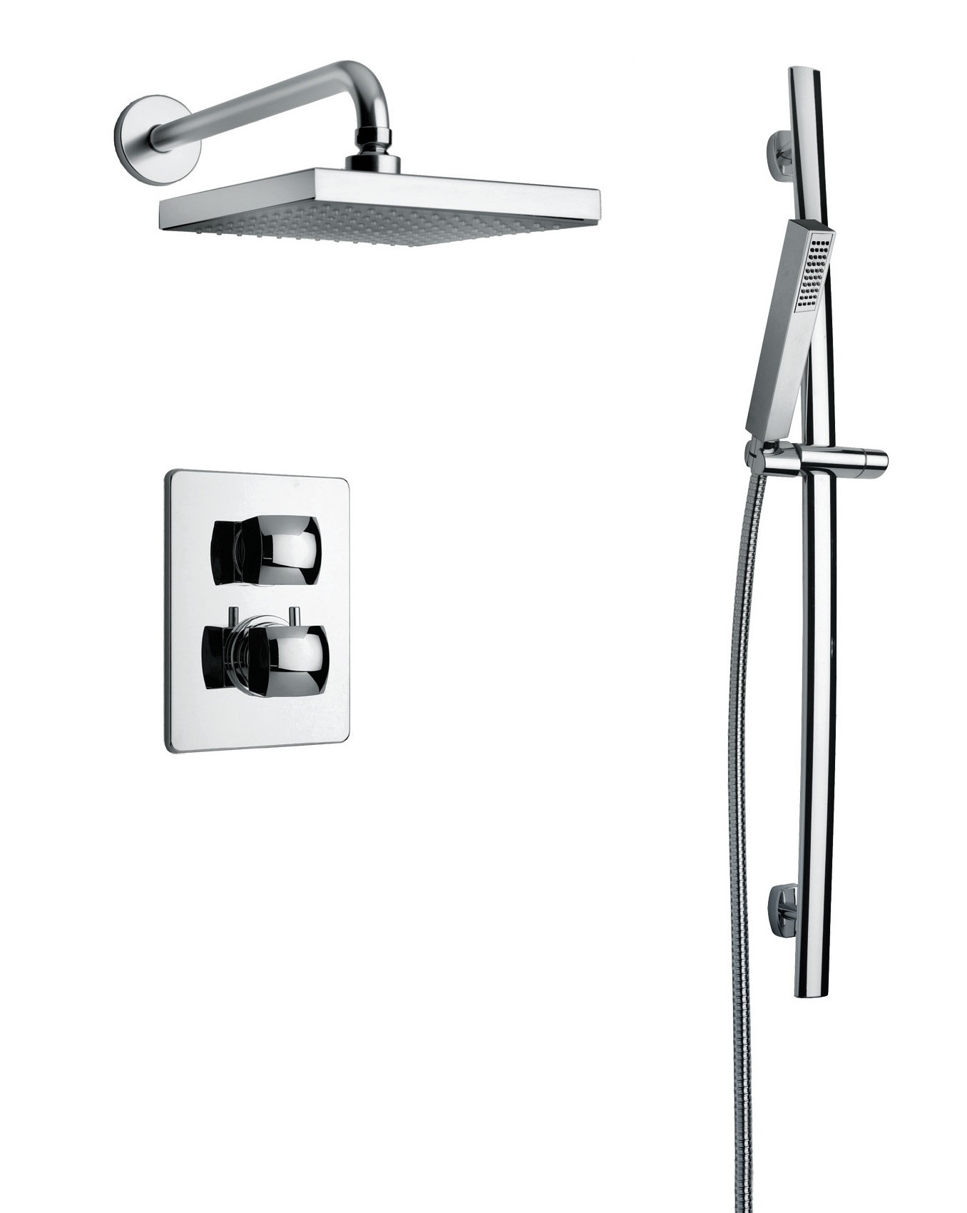 LaToscana Shower Set 89..791 With Valve, Diverter and Slide Bar