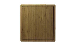 Lenova CB-01 Wooden Rectangular Cutting Board for Kitchen Sink