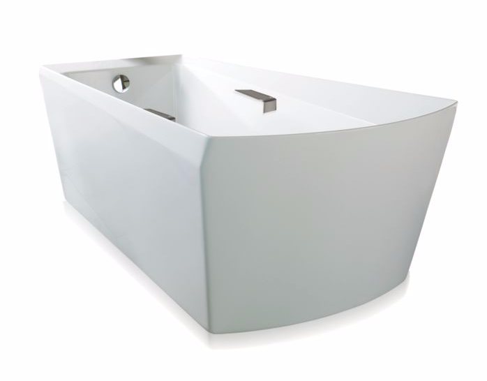TOTO ABF964N#01D Soiree Acrylic Free Standing Bathtub With Drain And Overflow Cover