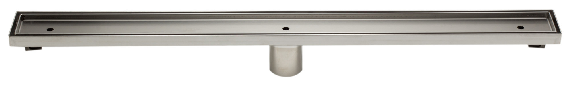 "ALFI brand ABLD32A 32"" Modern Stainless Steel Linear Shower Drain  w/o Cover"