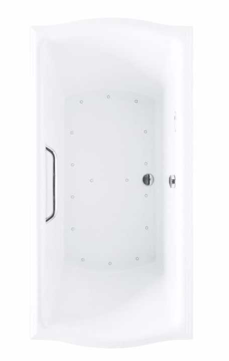 TOTO ABR781T#..N Clayton Drop In Acrylic Air Bathtub With Left Blower