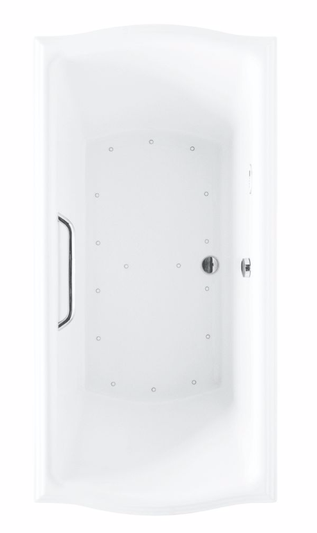 TOTO ABR784T#..N Clayton Drop In Installation Acrylic Air Bathtub With Left Blower