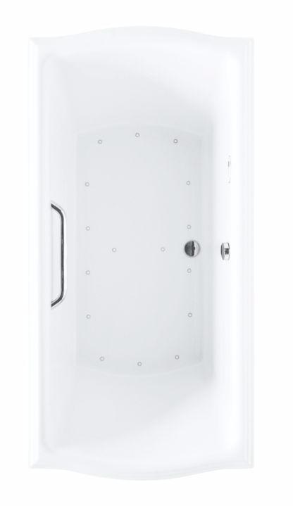 TOTO ABR785S#12Y Clayton Acrylic Rectangular Air Bathtub With Right Blower
