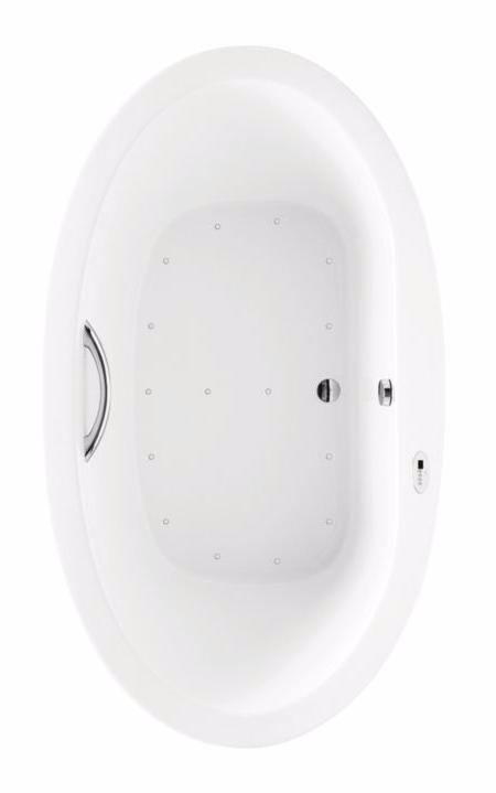 TOTO ABR794S#01Y Nexus Acrylic Right Blower Drop In Installation Air Bathtub