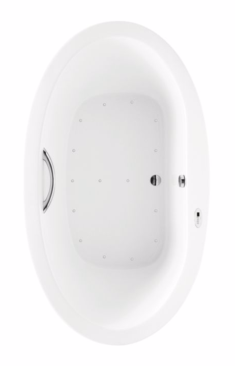 TOTO ABR794T#..N Nexus Acrylic Air Bathroom Tub With Left Blower And Overflow