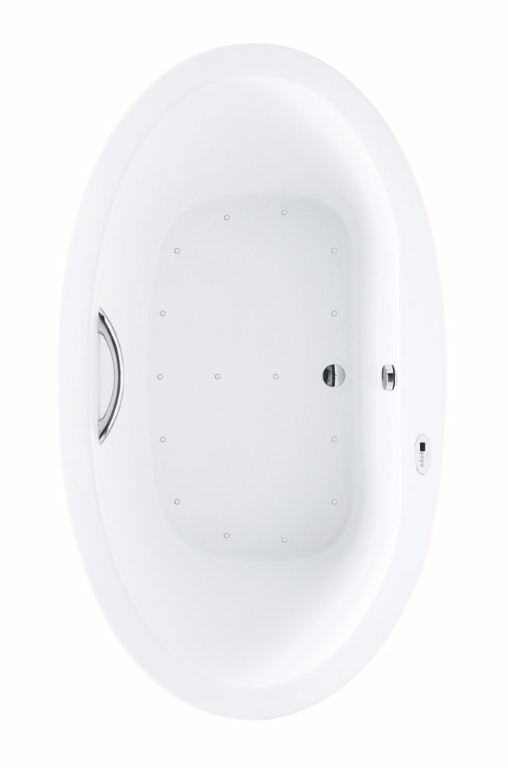 TOTO ABR904S#01Y Pacifica Acrylic Whirlpools Bathroom With Right Blower