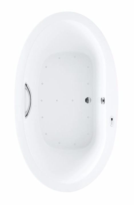 TOTO ABR904S#12Y Pacifica Acrylic Bathtub With Right Blower And Overflow
