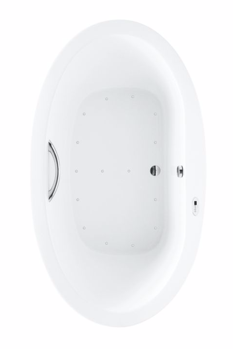 TOTO ABR904T#01Y Pacifica Drop In Acrylic Bathroom Tub With Left Blower