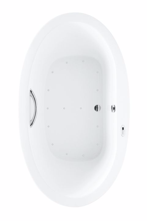 TOTO ABR904T#12Y Pacifica Oval Acrylic Bathroom Tub With Left Blower