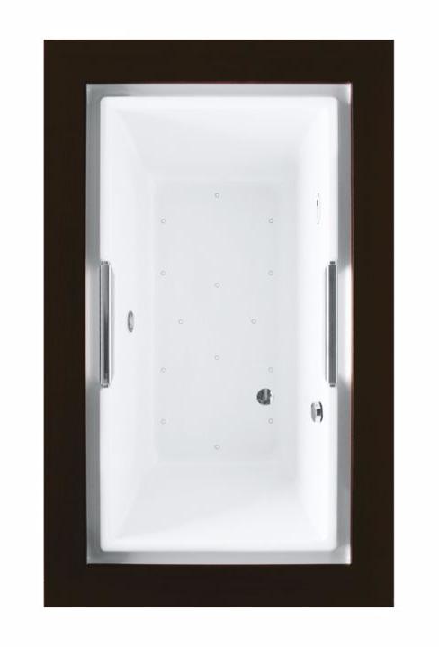 TOTO ABR930T#12Y Sedona Beige Acrylic Drop In Installation Air Bathtub With Left Blower
