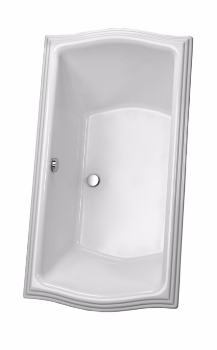 TOTO ABY626N#12D Aimes Drop In Acrylic Soaker Bathtub With Drain Assembly