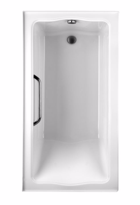 TOTO ABY782P#..N1 Clayton Drop In Soaker Tub With Left Drain And Single Tiling Flange