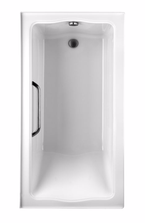 TOTO ABY782P#12Y..3 Clayton Left Drain Acrylic Soaker Bathtub With Three Tiling Flanges