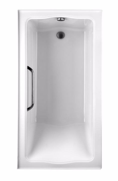 TOTO ABY782Q#..N Clayton Drop In Acrylic Soaker Bathroom Tub With Right Drain