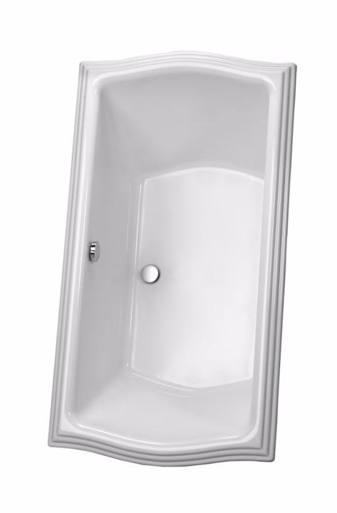 TOTO ABY785N#..N Clayton Acrylic Drop In Installation Soaker Bathroom Tub