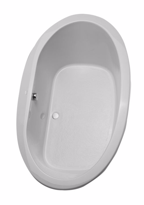 TOTO ABY904N#..N Pacifica Oval Cast Acrylic Drop In Installation Soaker Bathtub
