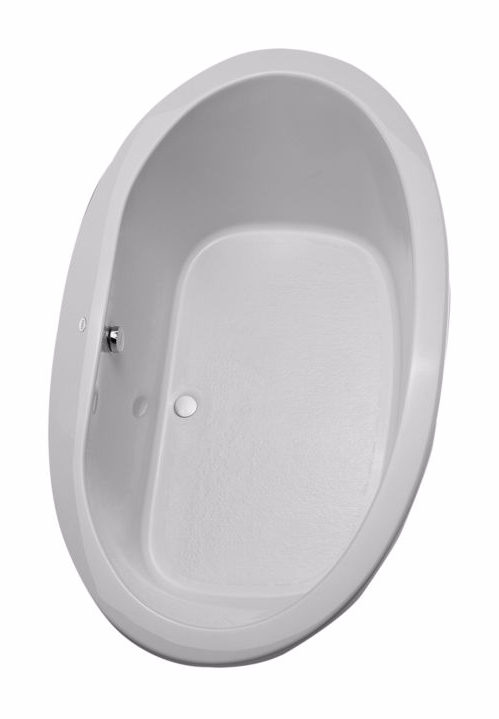 TOTO ABY904N#12Y Pacifica Oval Acrylic Soaking Bathtub With Grab Bar