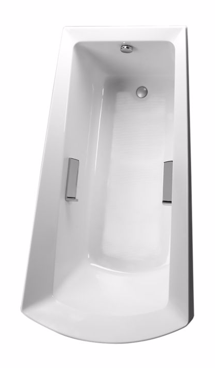 TOTO ABY964N#..N Modern Soiree Cast Acrylic Soaker Bathtub With Grab Bars