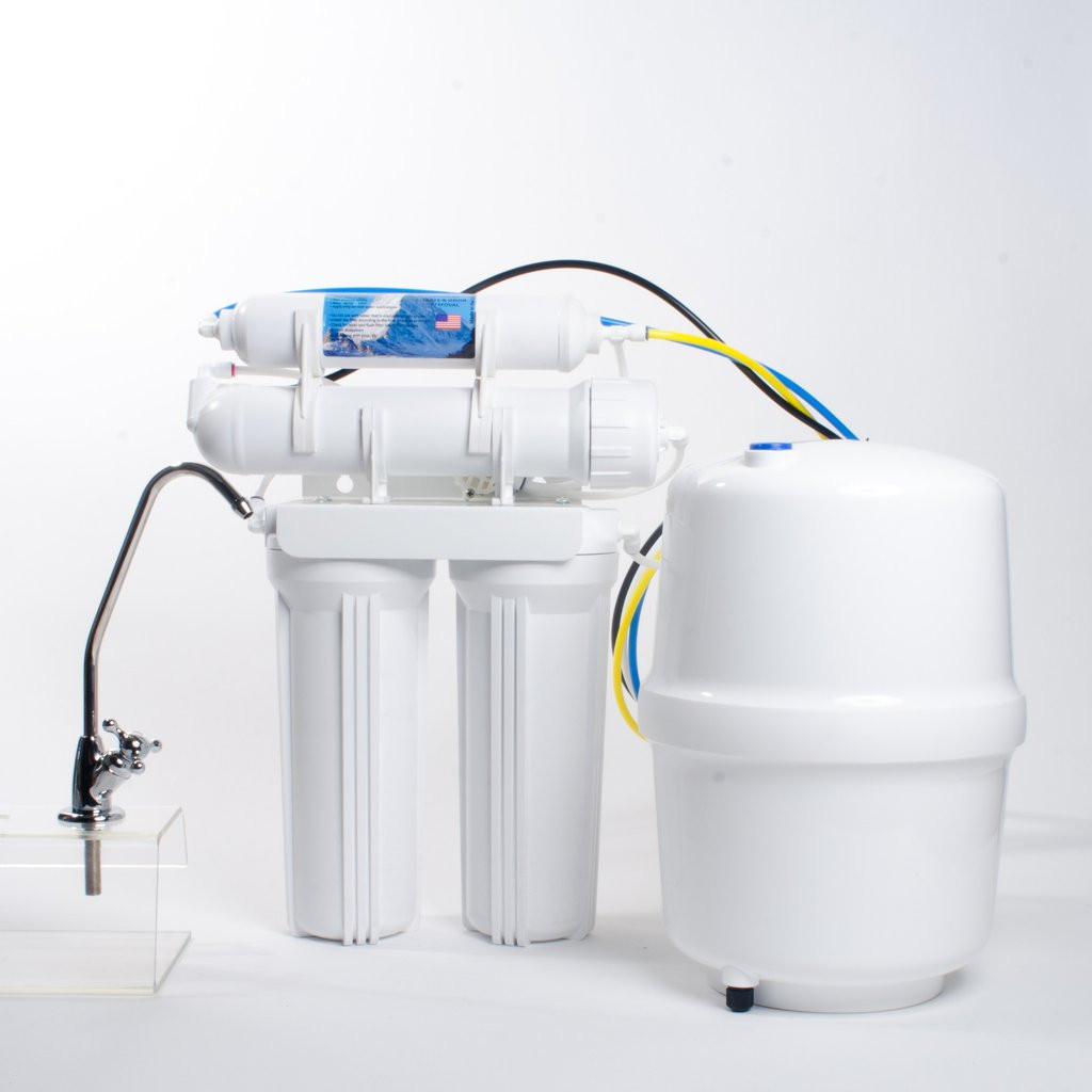 Anchor AF-5001 Four Stage Reverse Osmosis Water Filtration System - 50 GPD