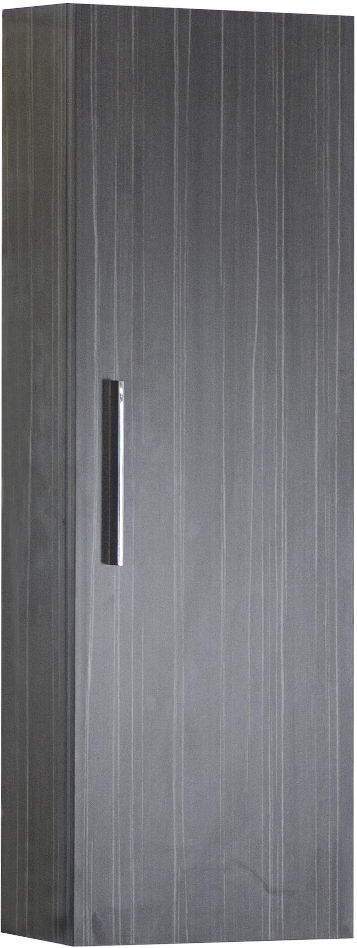 American Imagination AI-1355 Modern Wood Single Door Dawn Grey Medicine Cabinet