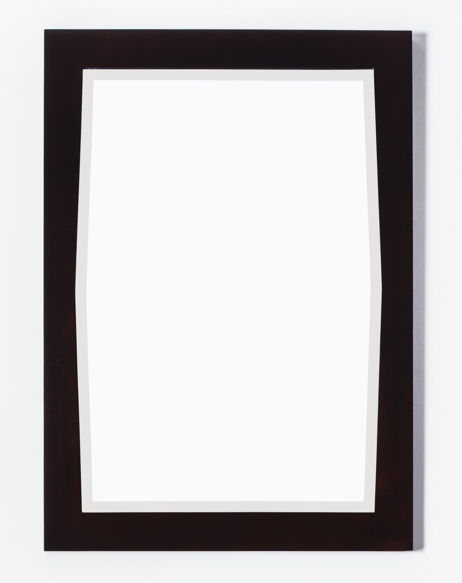 American Imagination AI-400 Transitional Bath Mirror with Beveled Edge