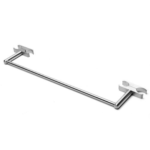 Amba AS-TBB14 Sirio Wall Mounted Brushed Stainless Steel Bathroom Towel Bar