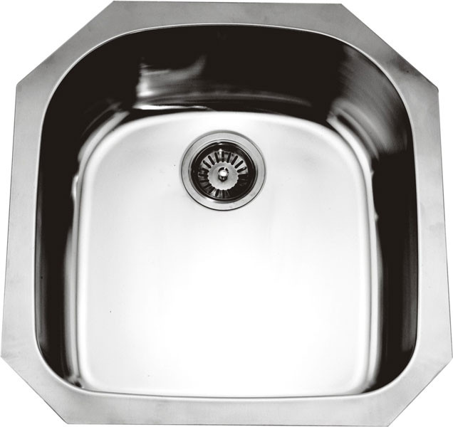 Dawn ASU101 Undermount Rounded Single Bowl Kitchen Sink