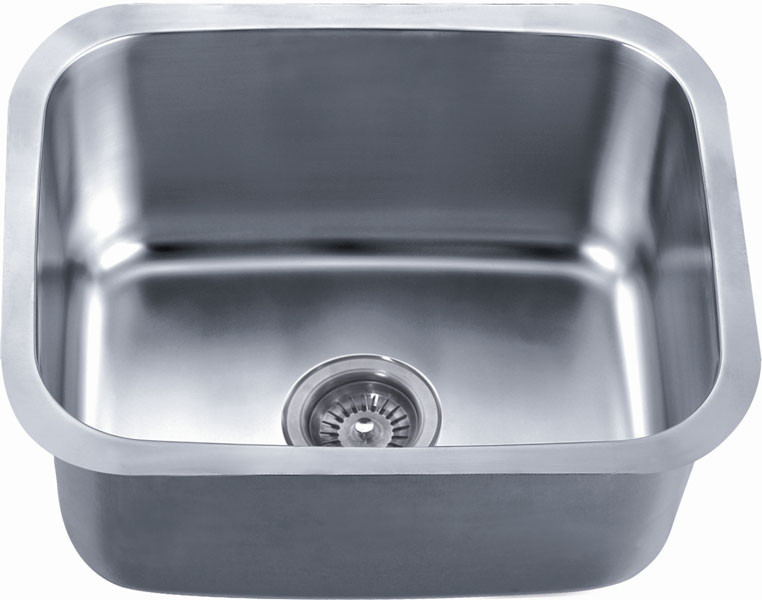 Dawn ASU103 Undermount Rounded Single Bowl Kitchen Sink