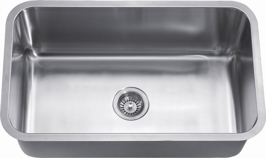 Dawn ASU106 Undermount Rounded Single Bowl Kitchen Sink
