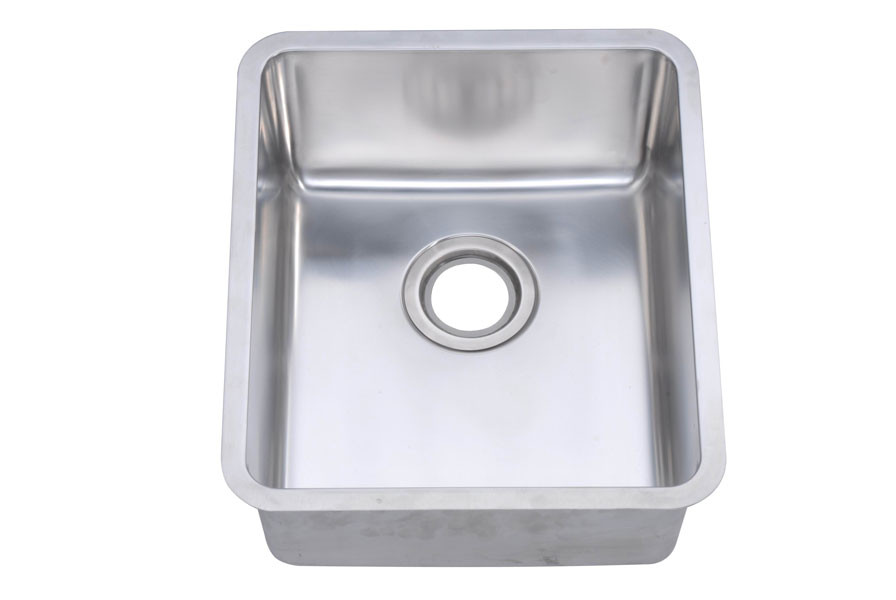 Dawn BS131507 Undermount Rounded Corner Bar/Prep Sink
