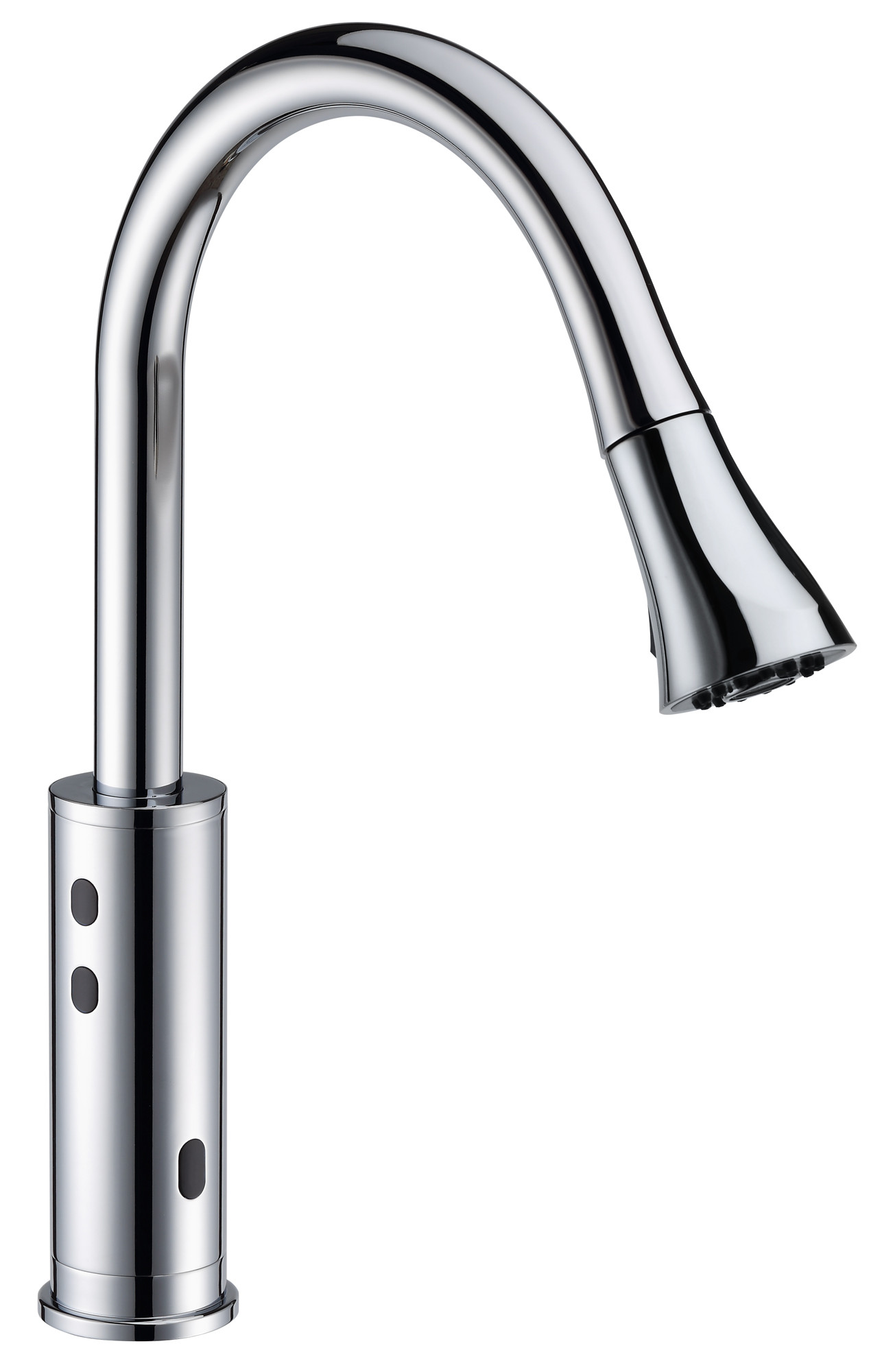 Cinaton C2201 Touch Free Easy Operation Pull Down Spray Kitchen Faucet