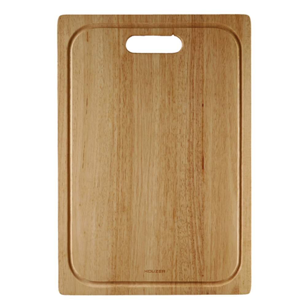 Houzer CB-4500 Endura Hardwood Rectangular Cutting Board for Kitchen Sink