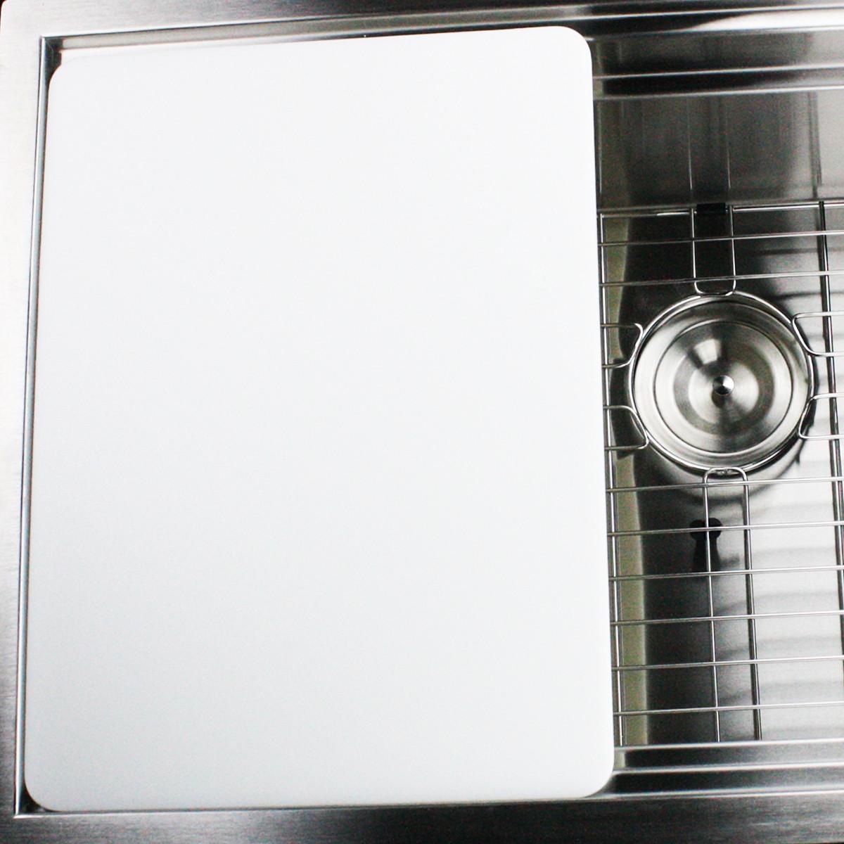 Nantucket Sinks CB-ZRPS32 Premium Kitchen Rectangular Plastic Cutting Board