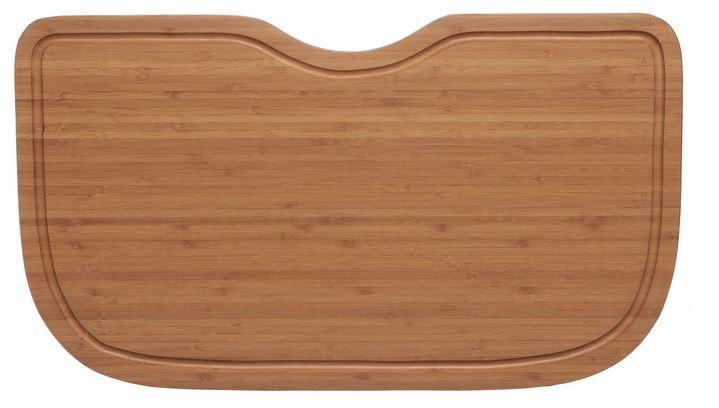 """Ukinox CB537HW 12-5/8"""" X 22"""" X 3/4"""" Bamboo Hardwood Cutting Board"""