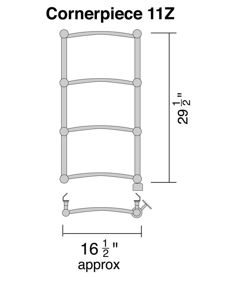 Wesaunard CORNER-PIECE-11Z Diagram