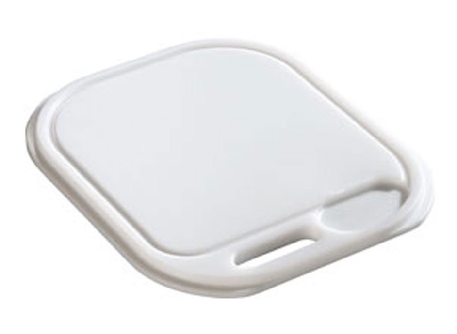 Franke CP-40W Compact Series Synthetic Kitchen Cutting Board in White