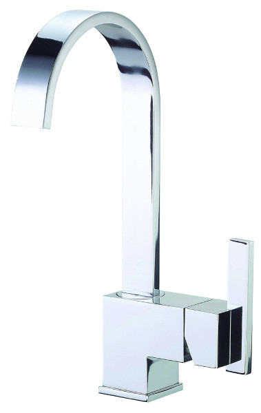 Danze D150644 Sirius™ Single Lever Handle Bar Kitchen Faucet With Fixed Spout In Chrome
