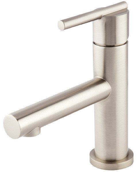 Danze D224158BN Brushed Nickel Finish Parma™ Deck Mounted Single Handle Lavatory Faucet