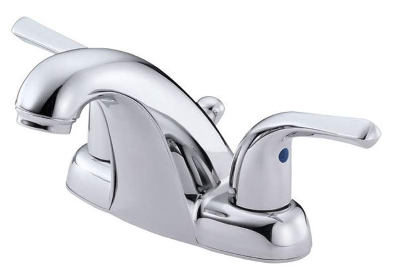 Danze D301112 Chrome Melrose™ Two Knob Handles Lavatory Faucet With Pop-Up Drain