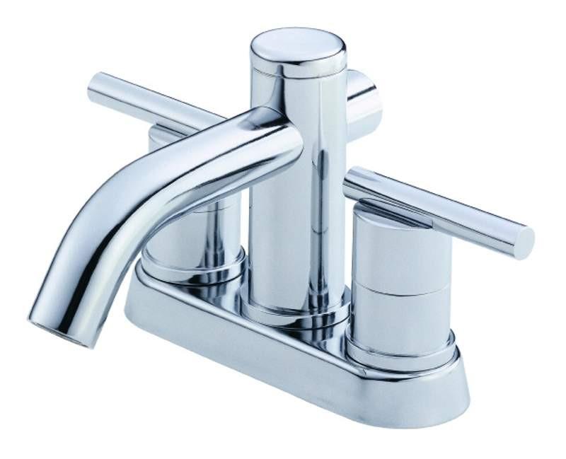 Danze D301158 Parma™ Double Lever Handles Centerset Lavatory Faucet In Chrome
